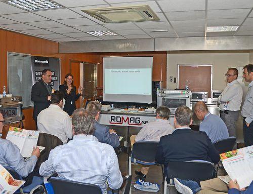 Jornadas de presentación y formación Hornos Panasonic