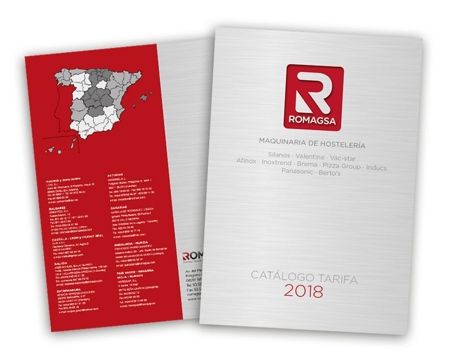 Nuevo Catálogo Tarifa 2018